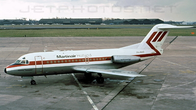 PH-MAT - Fokker F28-1000 Fellowship - Martinair Holland