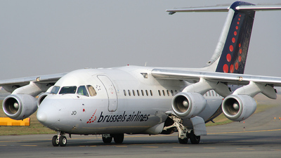 OO-DJO - British Aerospace Avro RJ85 - Brussels Airlines