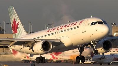 C-GKOD - Airbus A320-214 - Air Canada