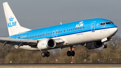 PH-BTG - Boeing 737-406 - KLM Royal Dutch Airlines