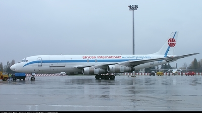 3D-ADV - Douglas DC-8-54(F) - African International Airways