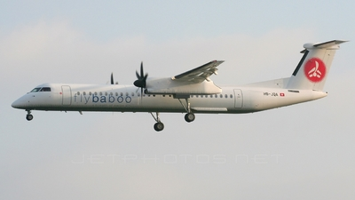 HB-JQA - Bombardier Dash 8-Q402 - Flybaboo
