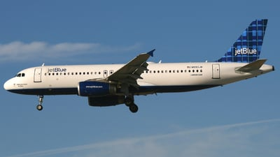 N593JB - Airbus A320-232 - jetBlue Airways