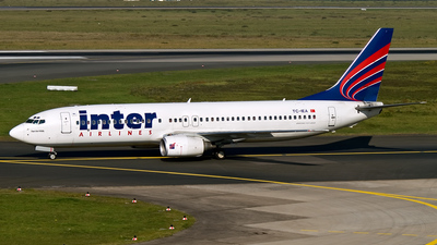TC-IEA - Boeing 737-8CX - Inter Airlines