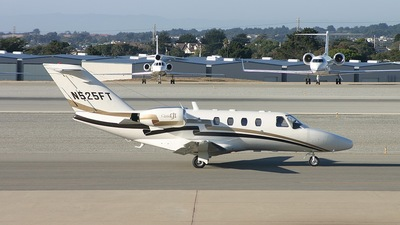 N525FT - Cessna 525 CitationJet 1 - Private