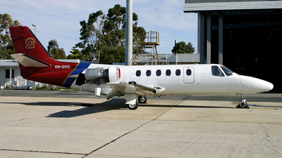 VH-OYC - Cessna 550 Citation II - Pearl Aviation