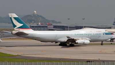 B-HOU - Boeing 747-467(BCF) - Cathay Pacific Cargo