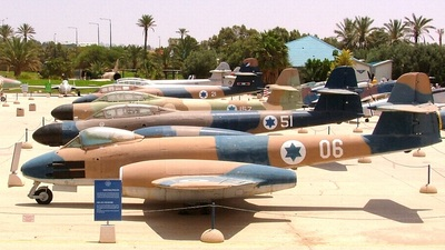 06 - Gloster Meteor - Israel - Air Force