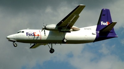 N742FE - Fokker F27-600 Friendship - FedEx (Empire Airlines)