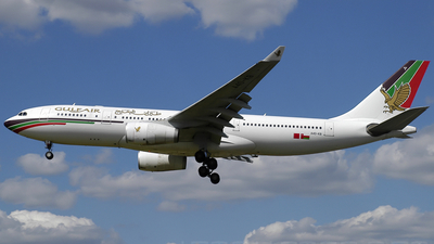 A4O-KB - Airbus A330-243 - Gulf Air