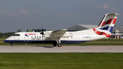 G-BRYZ - Bombardier Dash 8-Q311 - British Airways (CityFlyer Express)