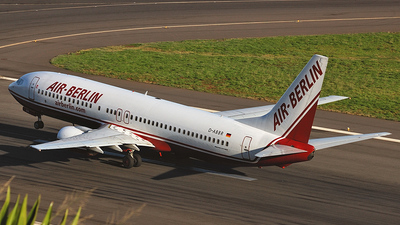 D-ABBR - Boeing 737-85F - Air Berlin