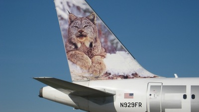 N929FR - Airbus A319-111 - Frontier Airlines