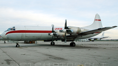 N344HA - Lockheed L-188A(F) Electra - Zantop International Airlines