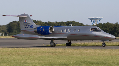 LX-TWO - Gates Learjet 35A - Luxembourg Air Rescue (LAR)