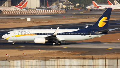 VT-JBC - Boeing 737-8HX - Jet Airways