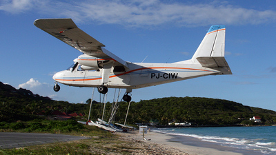 PJ-CIW - Britten-Norman BN-2A-26 Islander - Winair - Windward Islands Airways