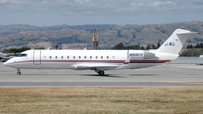 N168CK - Bombardier CL-600-2B19 Challenger 800 - Private