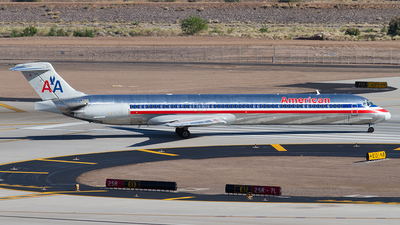 N497AA - McDonnell Douglas MD-82 - American Airlines