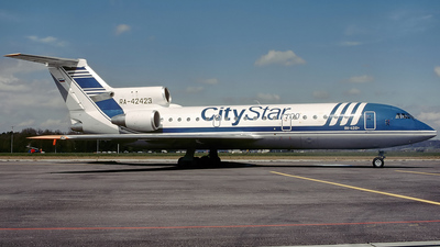 RA-42423 - Yakovlev Yak-42D - City Star Airlines