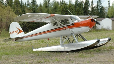 C-FLNE - Cessna 140 - Private