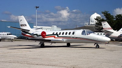 A picture of N55CH - Cessna 560XL Citation Excel - [5605622] - © Gerard A. Mark