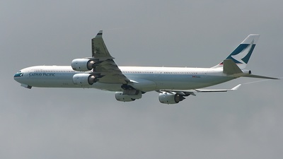B-HQC - Airbus A340-642 - Cathay Pacific Airways