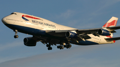 G-BNLH - Boeing 747-436 - British Airways