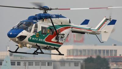 JA6739 - MBB-Kawasaki BK117B-2 - Japan - Kobe City Fire Bureau