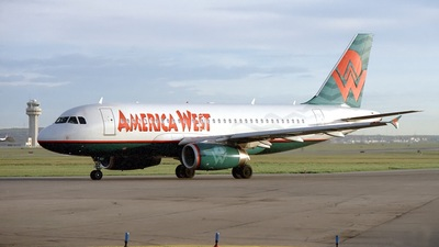 N821AW - Airbus A319-132 - America West Airlines