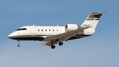 N664CW - Bombardier CL-600-2A12 Challenger 601 - Flight Options