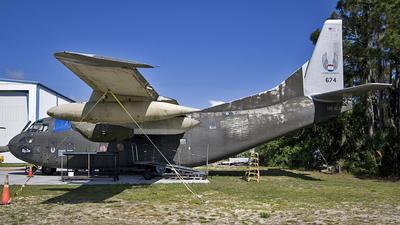 54-0674 - Fairchild C-123 Provider - Private