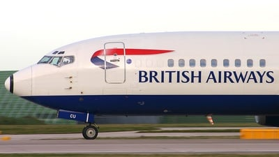 G-DOCU - Boeing 737-436 - British Airways