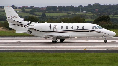 G-CFGL - Cessna 560XL Citation Excel - Private