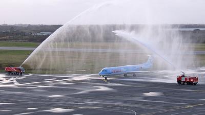 OO-TUF - Fokker 100 - Jetairfly