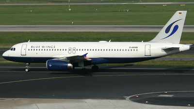 D-ANNB - Airbus A320-232 - Blue Wings