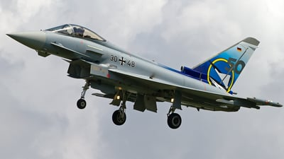 30-48 - Eurofighter Typhoon EF2000 - Germany - Air Force