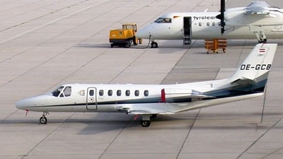 OE-GCB - Cessna 560 Citation Ultra - Goldeck-Flug