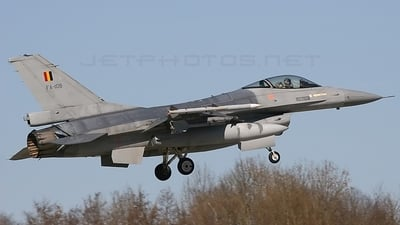 FA-108 - General Dynamics F-16AM Fighting Falcon - Belgium - Air Force