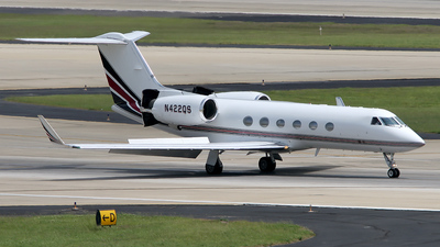N422QS - Gulfstream G-IV(SP) - NetJets Aviation