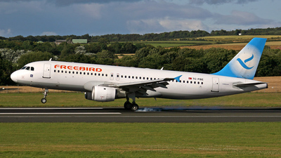 TC-FBE - Airbus A320-212 - Freebird Airlines