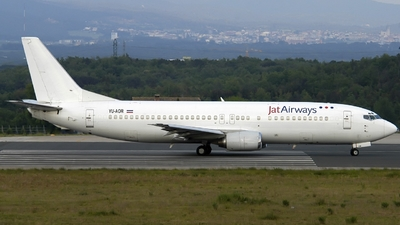 YU-AOR - Boeing 737-4B7 - Jat Airways