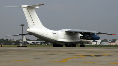 4L-AWA - Ilyushin IL-76TD - Air West Georgia