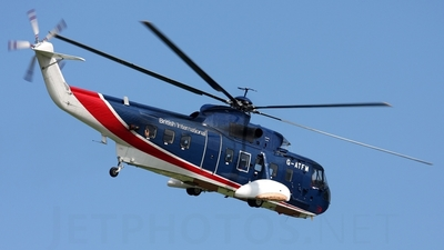 G-ATFM - Sikorsky S-61N - British International Helicopters