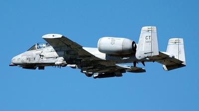 78-0643 - Fairchild A-10A Thunderbolt II - United States - US Air Force (USAF)