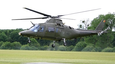 H21 - Agusta A109BA - Belgium - Army