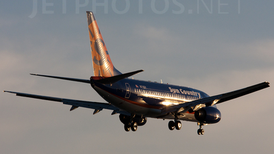 N711SY - Boeing 737-73V - Sun Country Airlines