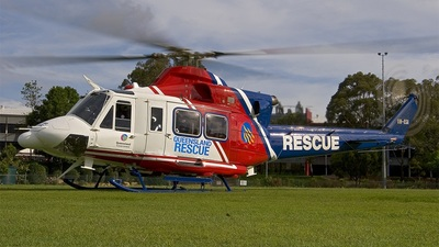 VH-ESA - Bell 412 - Queensland Government - Queensland Emergency Services