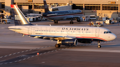 N840AW - Airbus A319-132 - US Airways