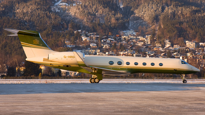 G-HRDS - Gulfstream G550 - Air Harrods